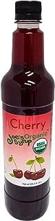 Joe's Syrup Organic Flavored Syrup, Organic Cherry, 750 ml