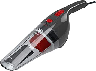Black+Decker 12V DC Auto Dustbuster Handheld Vacuum for Car, Red/Grey - NV1200AV, 2 Years Warranty
