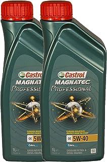 Aceite Motor Castrol Magnatec Professional OE Aceite de 5W-40, pack 2 litros