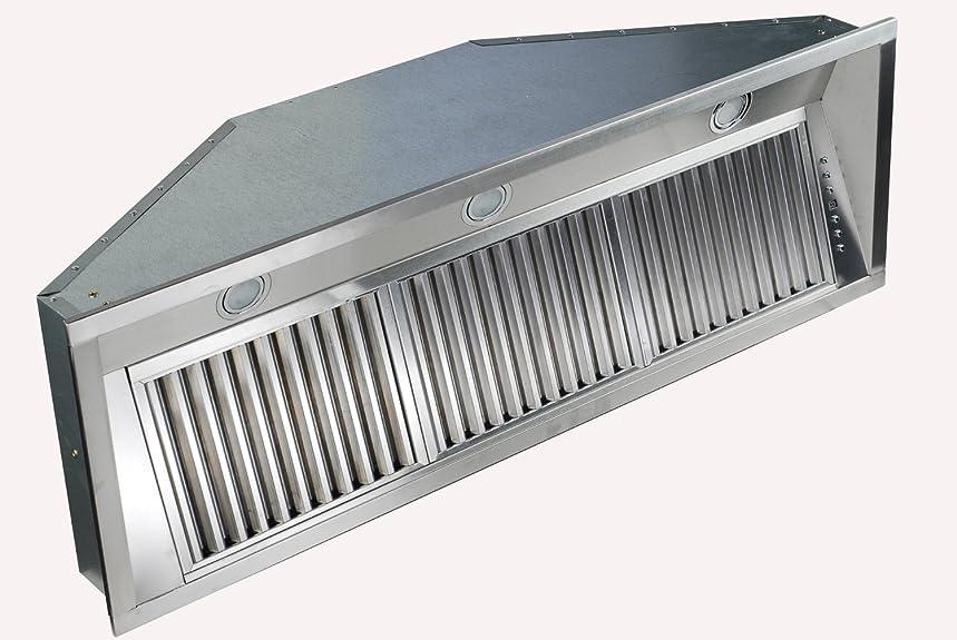 Z Line 695-40-LED Stainless Steel Range Hood Insert, 40-Inch