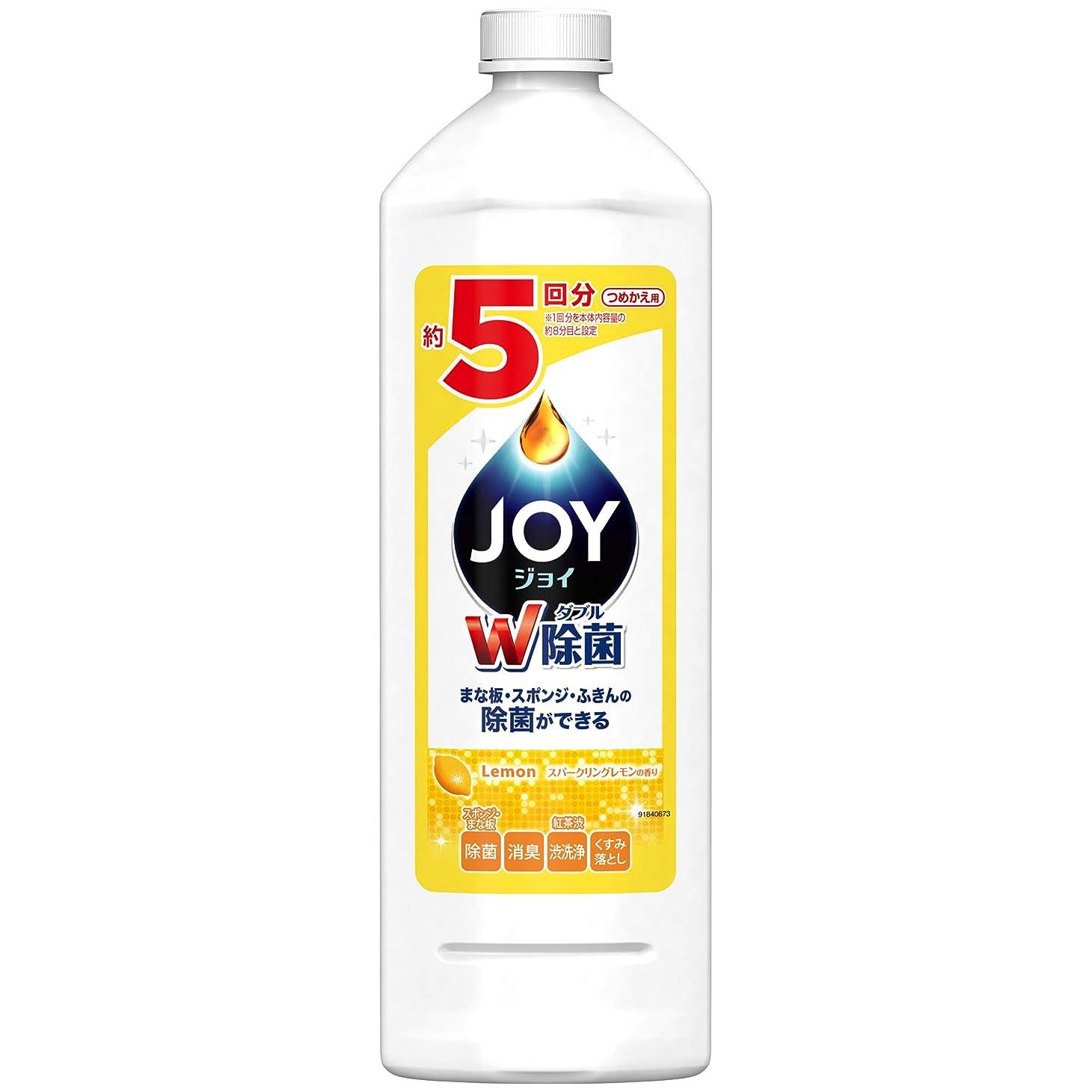 適切に宮殿存在除菌ジョイ コンパクト 食器用洗剤 スパークリングレモンの香り 詰め替え 特大 770mL