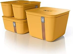 Vacuvita Premium Vacuum Containers Complete Set - Orange