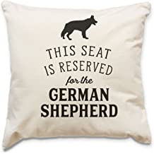 NEW - RESERVED FOR THE GERMAN SHEPHERD - Top Quality Cushion Cover - Dog Gift Present Xmas Birthday