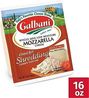 Galbani, Whole Milk Low-Moisture Mozzarella, 16 oz