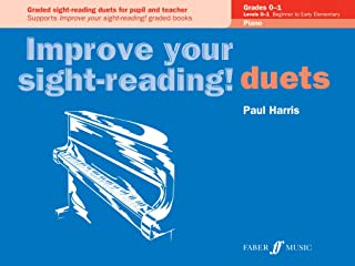 Improve your sight-reading! Piano Duets Grades 0-1