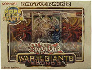 Konami Yu Gi Oh! War of The Giants Round 2 Battle Pack 2