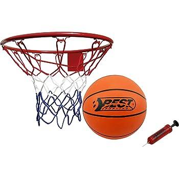Best Sporting Basketball Set, Korb mit Ball und Pumpe