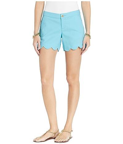Lilly Pulitzer Buttercup Stretch Shorts (Bali Blue) Women