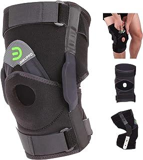 DISUPPO زنانه حمایت از بریس زانو آویز ، تثبیت کننده قابل تنظیم باز پاتلا برای تروما ورزشی ، اسپرین ها ، آرتروز ، ACL ، اشک منیسک ، صدمات لیگامنت