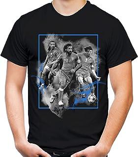 Italien Legenden Männer und Herren T-Shirt   Fussball Trikot Fan