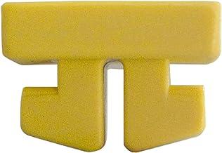 Grevinga 155018-02 nethouder van kunststof geel - 1 stuk