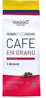Viaggio Espresso Café en grano tostado de origen Colombia - 1 Kg