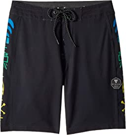 "Jeff Ho Zephyr Four-Way Stretch 17"" Boardshorts (Big Kids)"
