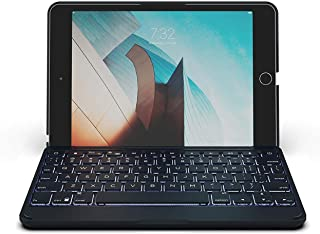 ZAGG Folio - Bluetooth Tablet Keyboard - Backlit with 7 Colors - Made for Apple iPad Mini 5 (7.9