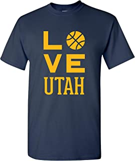 Town Love Basketball - Sports Team Hometown City Pride T Shirt