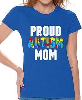 Proud Autism Mom Shirts Autism Mom Gifts Autism Mother Awareness