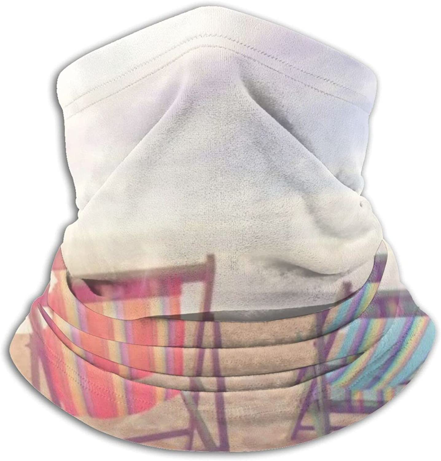 Beach Chair On Sun Under Warm Limited time trial Max 82% OFF price Microfiber Neck Warmer Light