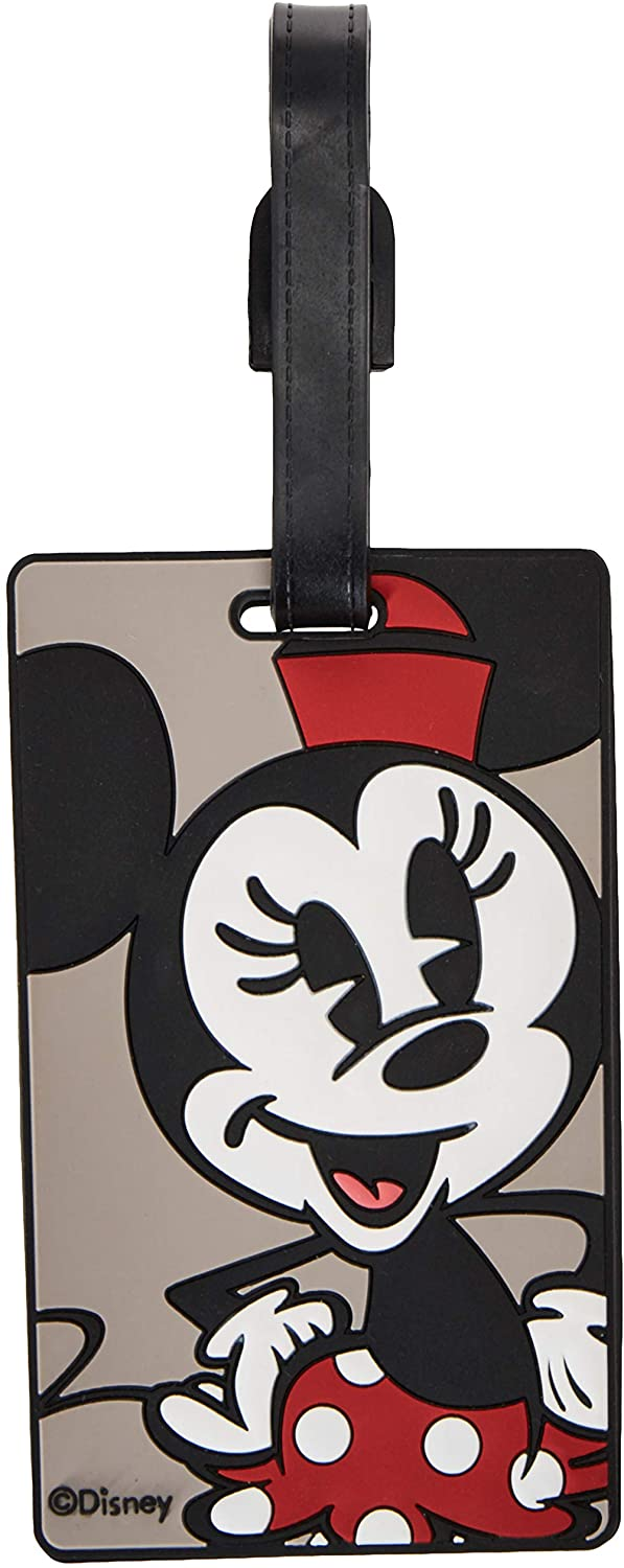 American Tourister Disney 5 ☆ popular Luggage Tag Max 50% OFF Size Minnie Mouse One