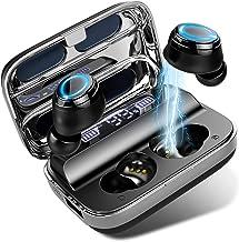 Donerton Wireless Earbuds, Bluetooth 5.1 Headphones 140 Hours Playtime Earphones with Charging Case, in Ear Headset IP7 Wa...