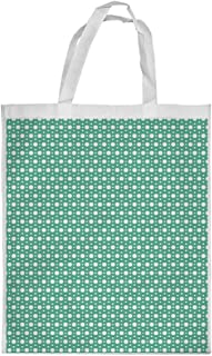 Large and small circles Printed Shopping bag, Large Size