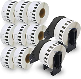 """BETCKEY - Compatible DK-2211 Continuous 1-1/7"""" x 50'(29mm x 15.2m) Matte Film Tape Replacement Labels,Compatible with Brot..."""
