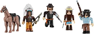 Roblox Action Collection - The Wild West Five Figure Pack [Includes Exclusive Virtual Item]