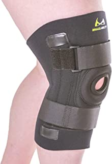 BraceAbility Knee Brace for Large Legs and Bigger People with Wide Thighs   Kneecap Protection Pad Treats Patellar Tendonitis, Chondromalacia, Patellofemoral Pain, Instability & Dislocation (3XL)