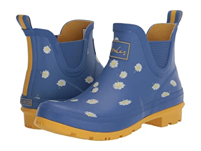 Joules Wellibob Chelsea Boot (Blue Daisy) Women