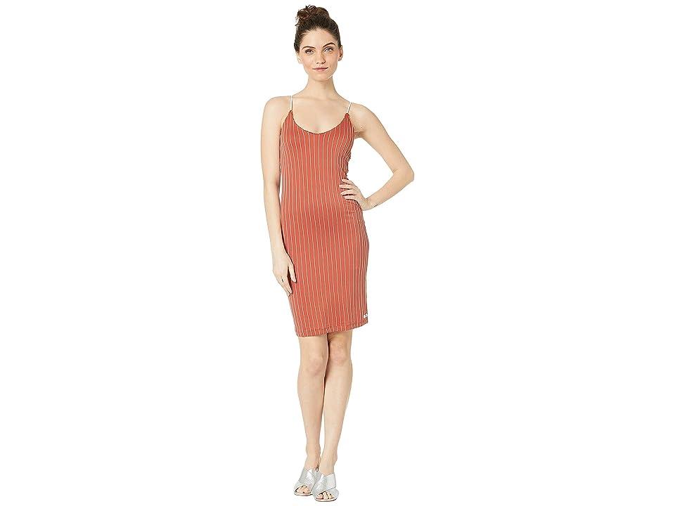 Hurley Quick Dry Rise Dress (Firewood Orange) Women