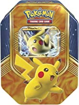 Pokemon Cards 2016 Fall Tin Battle Heart Pikachu + 4 Booster Pack + A Special Foil Pokemon-EX Card
