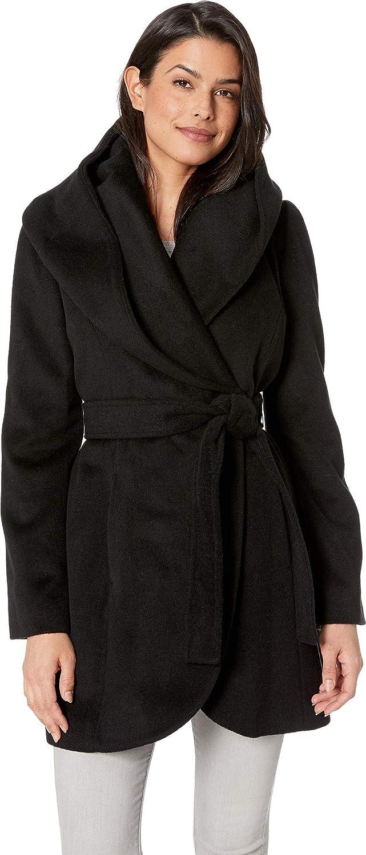 Via Spiga Womens Wrap Coat