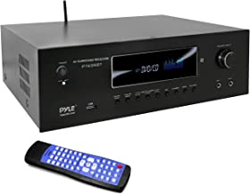 1000W Bluetooth Home Theater Receiver - 5.2 Channel Surround Sound Stereo Amplifier System with 4K Ultra HD, 3D Video & Bl...