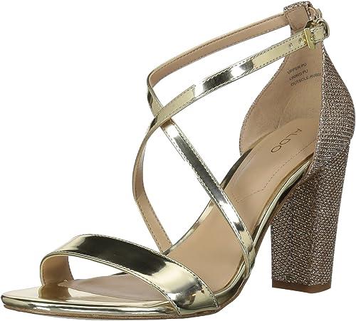 ALDO Wohommes KERRAMA Heeled Sandal, or, 5 B US