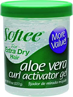 Softee Curl Activator Gel, Extra Dry, 8 Ounce