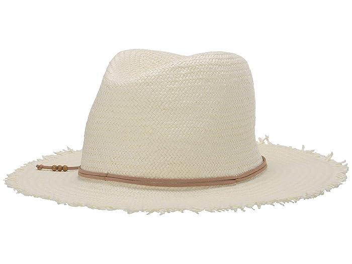 Hat Attack  Fringe Travel Hat (Bleach/Tan) Caps