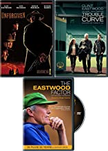 Reveal the Man Eastwood Film Collection Unforgiven Western + Trouble with The Curve & Documentary Legend Factor Biography DVD Feature movie set