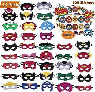 Best superhero mask template actual size Reviews