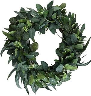Hearth & Hand Magnolia Eucalyptus Artificial Wreath 24