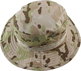Men Bucket Hat Outdoor Fishing Boonie Hat UV Protection Panama Hat Hiking Sombrero Army Camouflage Sun