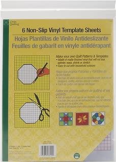 vinyl template material