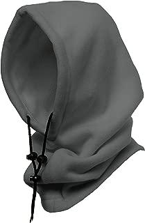 WinterProof 4 in 1 Full Face Hood Adults, Fleece Balaclava, Ski Mask Hoodie