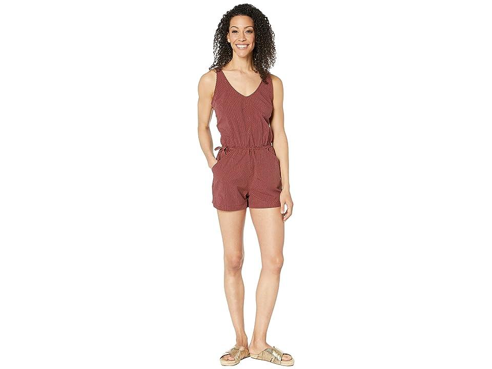 Mountain Hardwear Railaytm Romper Shorts (Dark Umber) Women