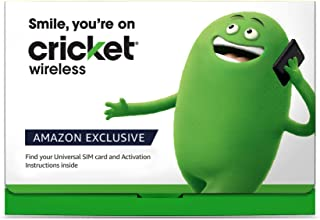 $55 Monthly Stored Value Card Subscription for Cricket Unlimited & 15GB Mobile Hotspot plan