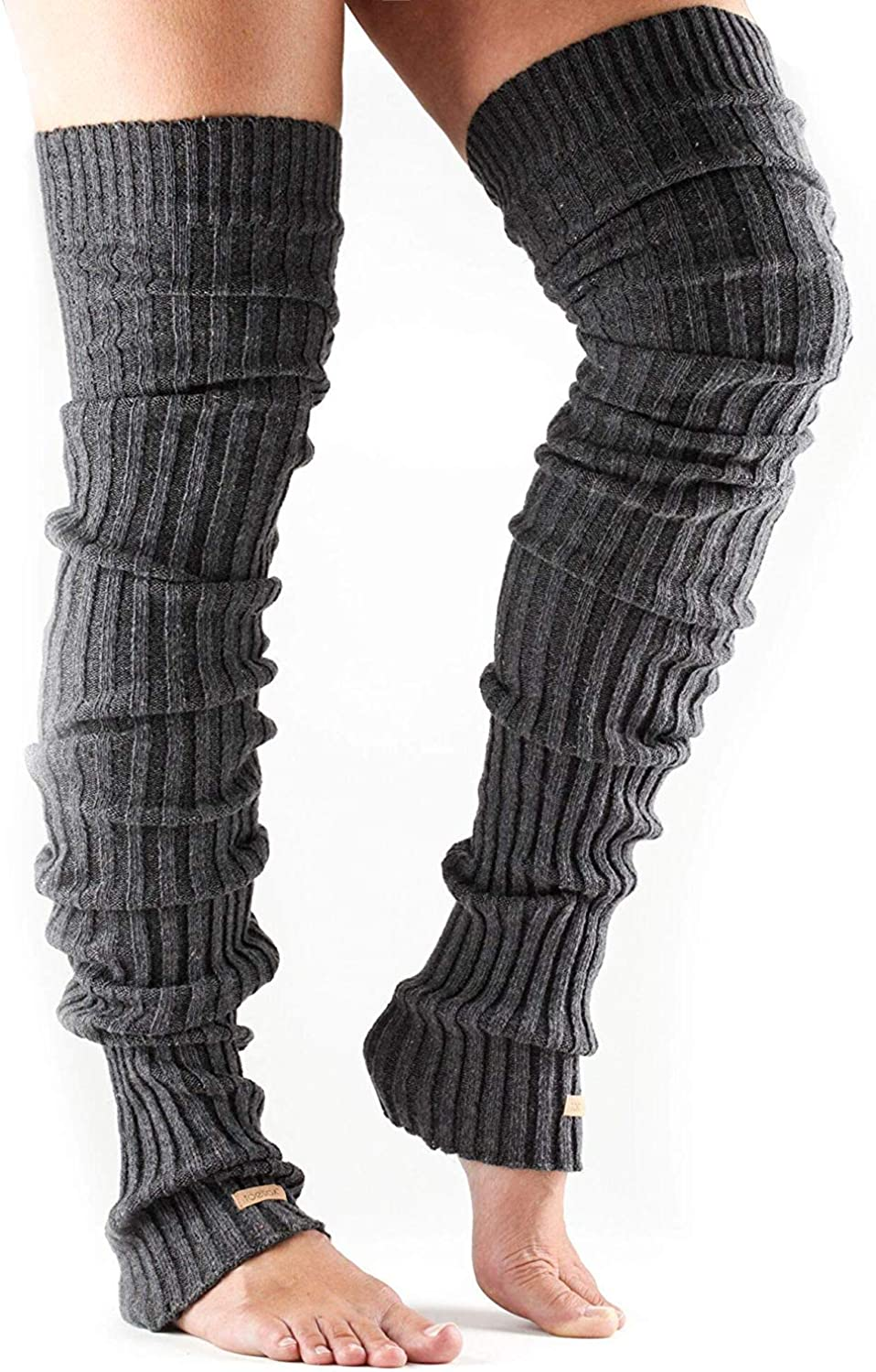 Gray Leg Warmers Gift for Her Striped Leg Warmers Women/'s Wool Leg Warmers Wool Knit Leg Warmers Mexican Leg Warmers