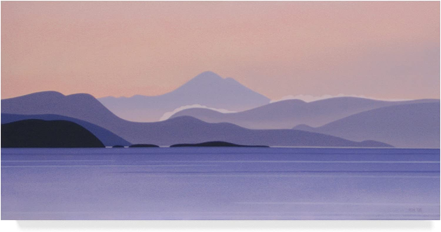 Mount Baker Predawn by Ron Parker, 10x19Inch