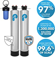 Whole House Water Filter & Water Softener (4-6 Bathrooms)
