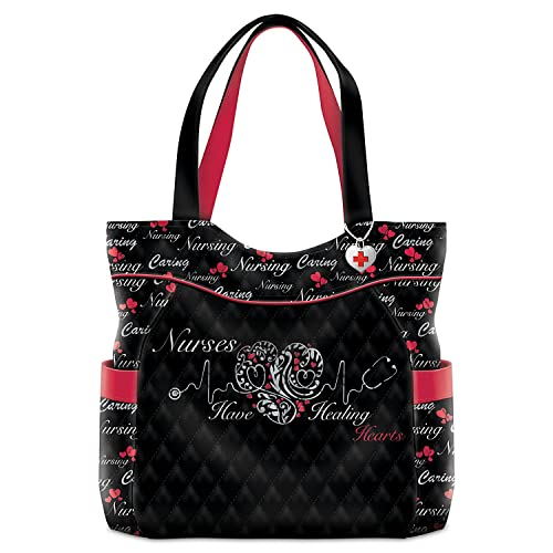 a56a40e09ed8 Nurse Tote Bag With Inside Pockets: Amazon.com