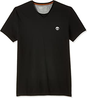 Timberland mens Dunstan River Jersey V Neck Tee Slim T-Shirt