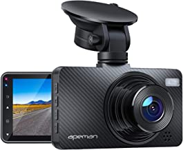 "APEMAN Dash Cam 1080P Car Camera with 3"" LCD Screen, 170� Wide Angle, G-Sensor, WDR, Loop Recording, Motion Detection, Night Vision"