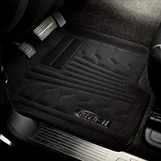 Lund 583111-B Catch-It Black Front Carpet Floor Mat, (Set of 2)